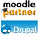 Moodle Drupal