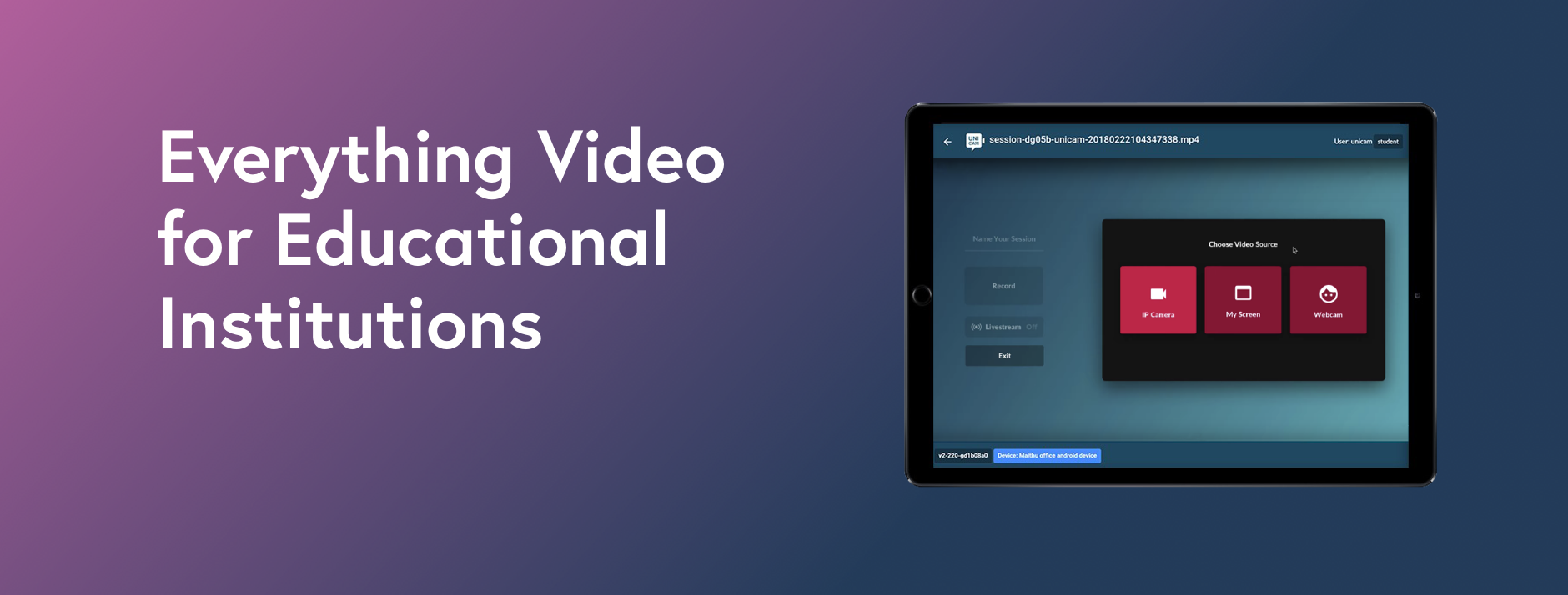 Everything Video for Educational Insitutions