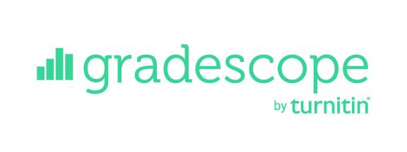 Gradescope by turnitin logo